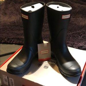 Hunter Rain Boots size 10